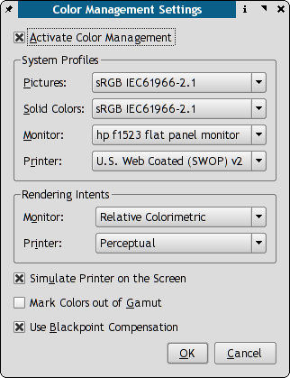 """Color Management Preferences"""