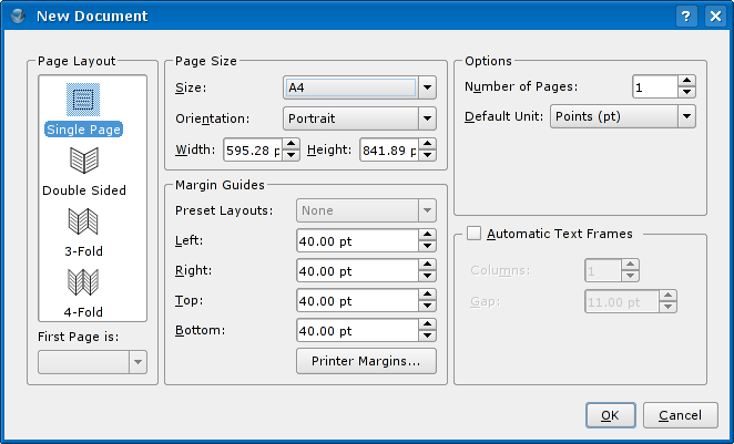 New document dialog in Scribus 1.3.3.*