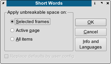 """Short Words dialog window"""