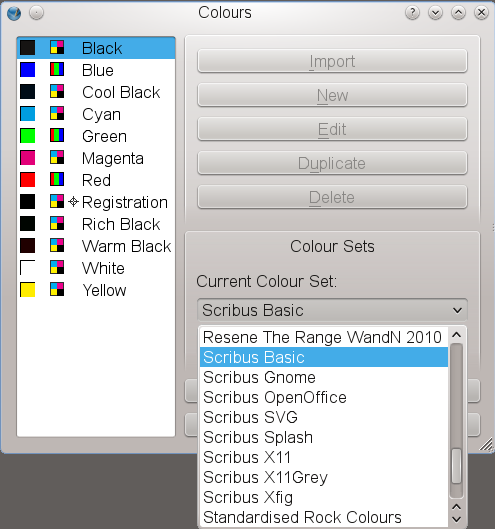 """Scribus Color Manager"""