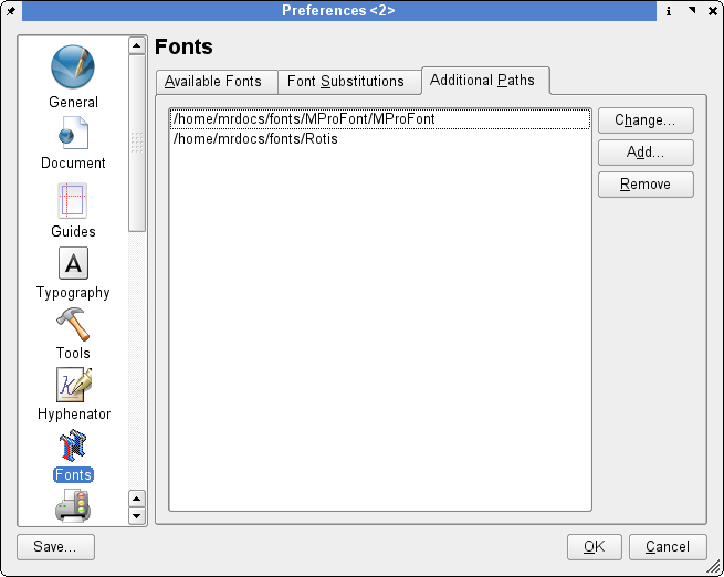 """Adding additional font paths"""
