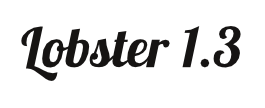 Layered text lobster font.png